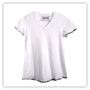 We're Together White Short Sleeve Top
